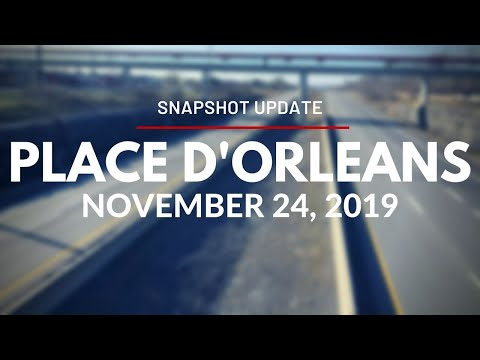 Snapshot Update For Place D'Orléans Station - November 24, 2019