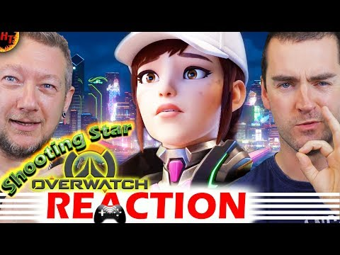 """Shooting Star"" Overwatch Animated Short REACTION"