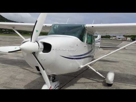 Diesel Cessna 172 - Rarotonga, Cook Island sightseeing adventure!