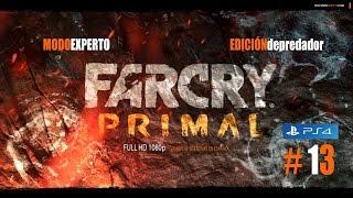 #13 FCP FAR CRY PRIMAL - DIENTES DE SABLE - EXPERTO - PS4 - Español ★Gameplay