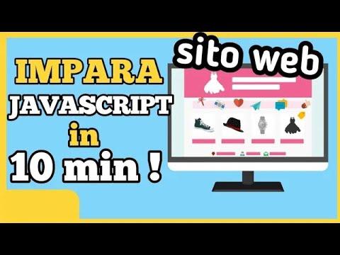 Tutorial Javascript ESEMPI PRATICI [ 2019 ITA ] thumbnail