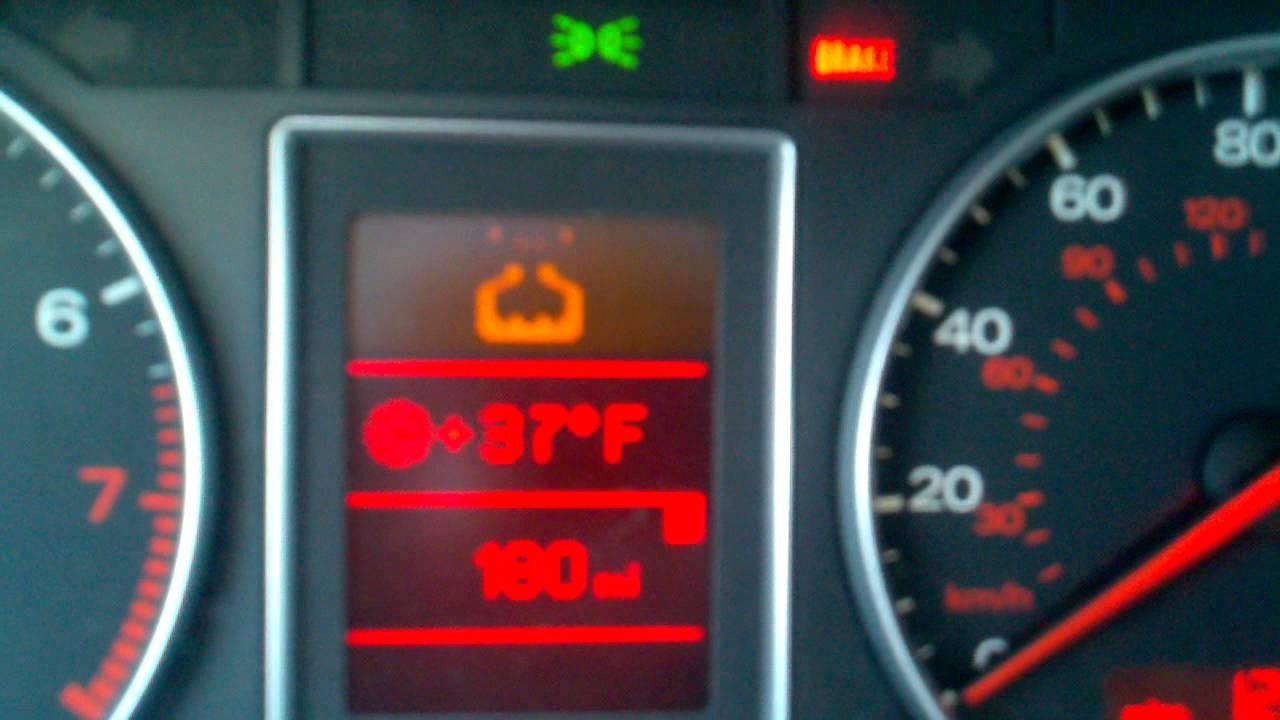 Audi Tt Warning Symbols