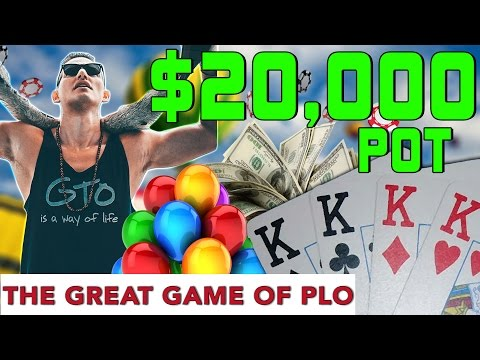 How To Get Paid At Pot Limit Omaha With Quads!!??