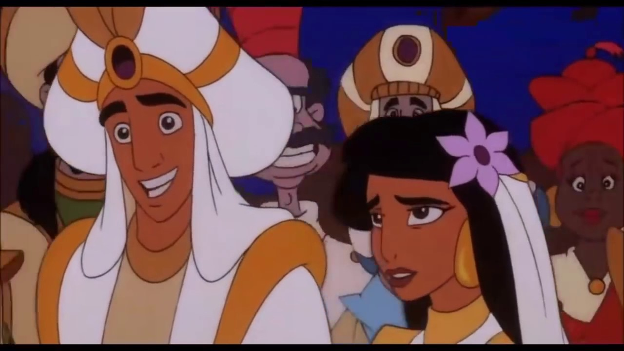 Aladdin And Jasmine Finally Get Married Wedding Scene Hd