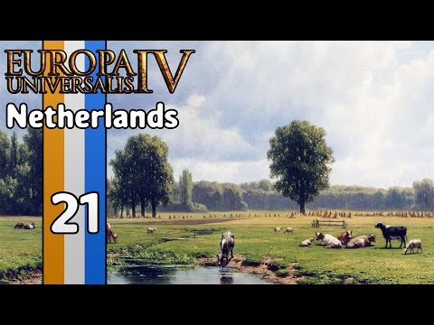 Let's Play Europa Universalis 4 as the Netherlands (1440p) - Part 21: The Start of Something Bad