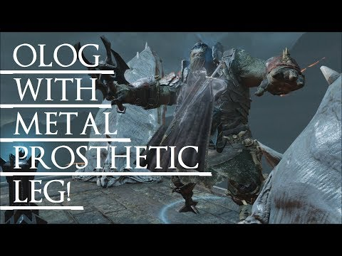 Shadow of War: Middle Earth™ Unique Orc Encounter & Quotes #123 THIS LIMPLEG OLOG