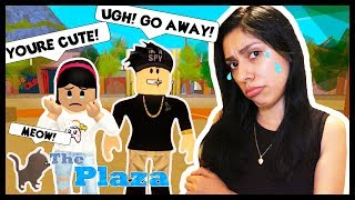 THE CUTE GUY BROKE MY HEART! - Roblox - The Plaza