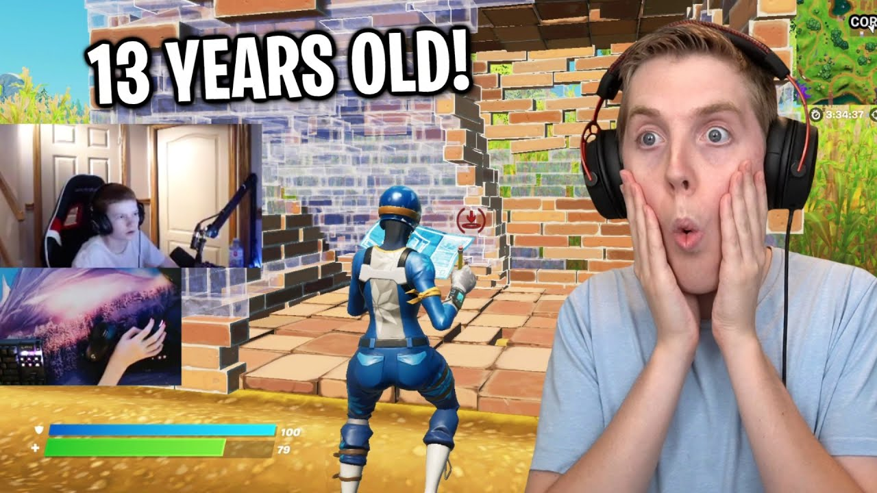 So I Coached The YOUNGEST Fortnite Pro & This Is What Happened...