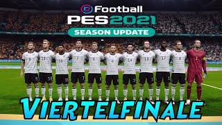 PES 2021   UEFA EURO 2020 DEUSCTHLAND  Viertelfinalel VS Tschechien
