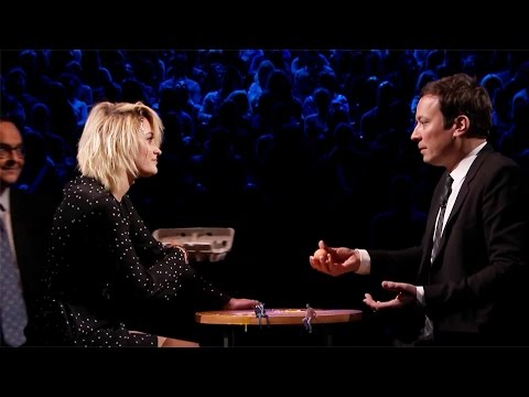 Paris Jackson Plays Egg Russian Roulette with Jimmy Fallon on the Tonight Show