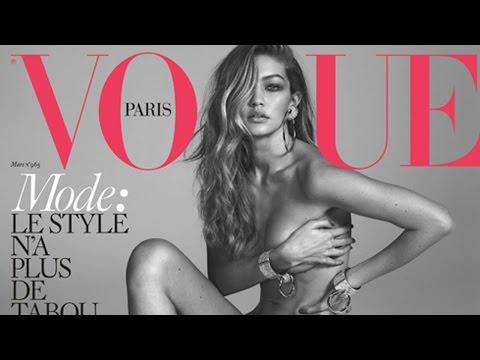 Gigi Hadid Se DESNUDA Para Vogue Paris y A Zayn Le Gusta!