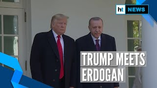 Donald Trump meets Turkey President Erdogan weeks after Syria crisis