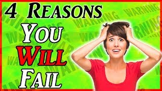 Why you wont make money online (4 reasons people fail)