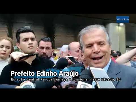 """EDINHO ENTREGA NOVO TERMINAL DE ÔNIBUS DE RIO PRETO - """"Quem Ganha é A População"""""""