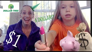 Dollar Store Haul W/ Lollipops and Rainbows! AKA My Niece! thumbnail