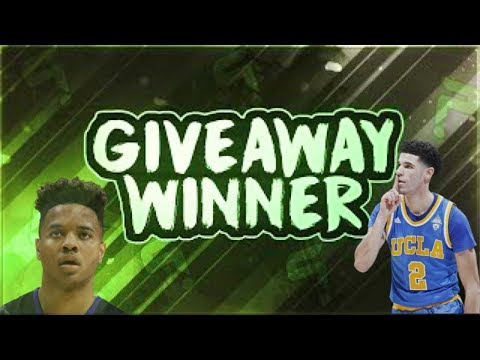 1 MILLION COIN GIVEAWAY WINNER ANNOUNCED! - NBA Live ...