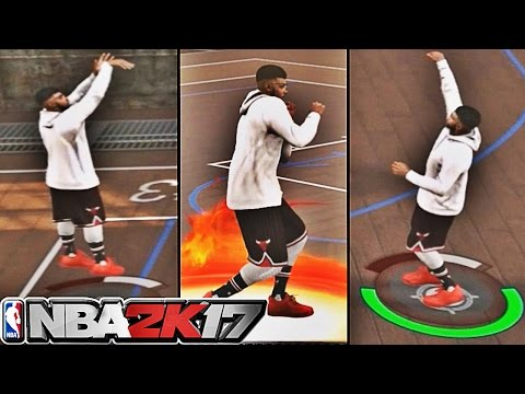 WETTEST JUMPSHOT SPLASHING FOR ALL STAR 2!! | GREEN LIGHT AFTER GREEN LIGHT | NBA 2K17 MyPARK