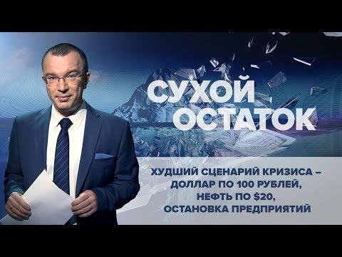 Юрий Пронько: Худший сценарий кризиса - доллар по 100 рублей, нефть по $20, остановка предприятий