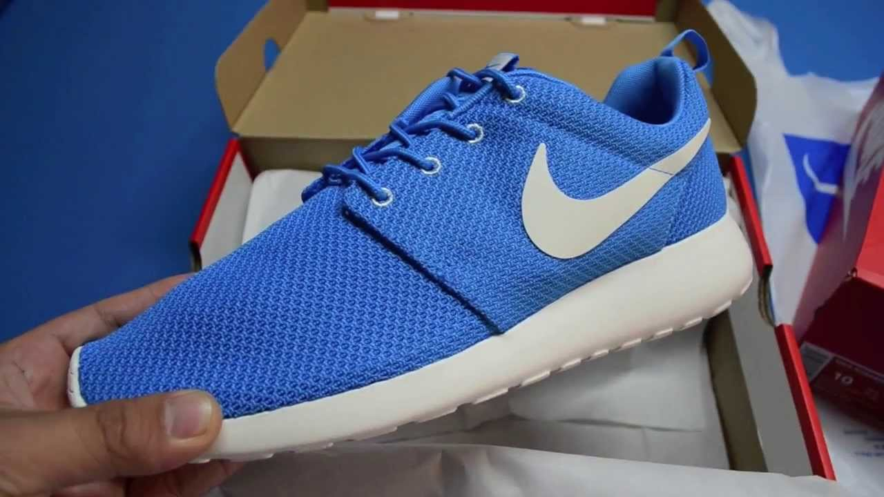 Nike Roshe Run Blue Hero Tiger Camo