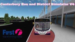 Roblox - Bendy Bus Update in Canterbury Bus Simulator V4