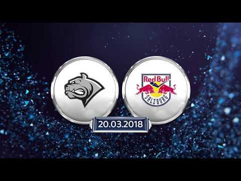 Erste Bank Eishockey Liga, 6. Viertelfinale: Dornbirner EC - Red Bull Salzburg 2:6