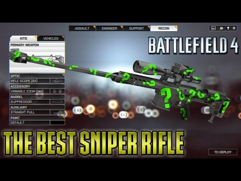 The Best Sniper Rifle in Battlefield 4