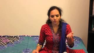 Raksha Rao singing