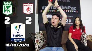 Reacciones Atletico Nacional 2 vs America de Cali 2   Liga Betplay 2020