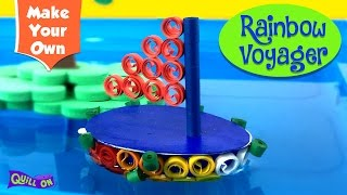 Make a Quilling Boat