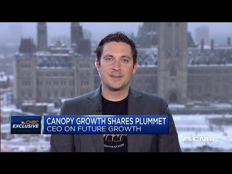 Canopy Growth CEO Mark Zekulin on access to cannabis and market growth
