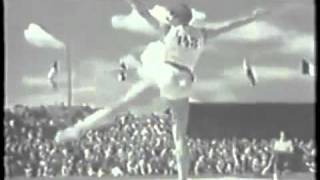1950 World Championships: Helena Rakoczy (POL) Floor
