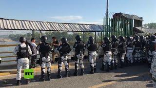 México intensifica la seguridad en la frontera con Guatemala