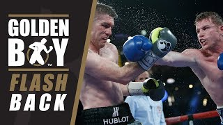 Golden Boy Flashback: Canelo Alvarez vs Liam Smith (FULL FIGHT)