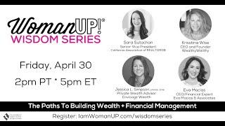 Wisdom Session * Building Wealth