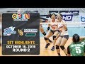 Creamline vs. Pacific Town-Army | Set 1 Highlights - October 16, 2019 | #PVL2019