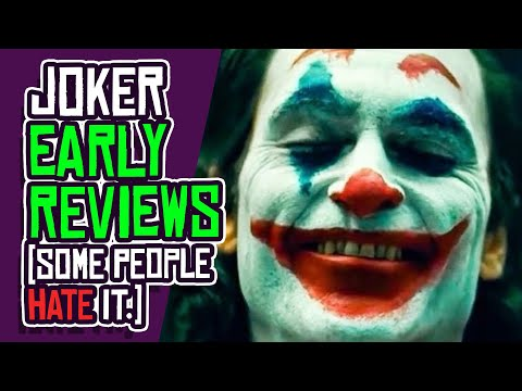 "JOKER Movie Early Reviews: It's A ""Rallying Cry For Incels?!"""
