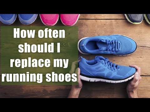 How often should I replace my running shoes