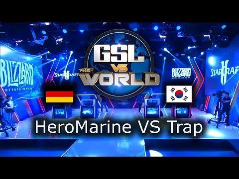 Trap VS HeroMarine - GSL vs the World 2019 - polski komentarz