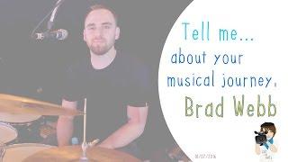 Why Jamie Cullum drummer Brad Webb is a successful drummer