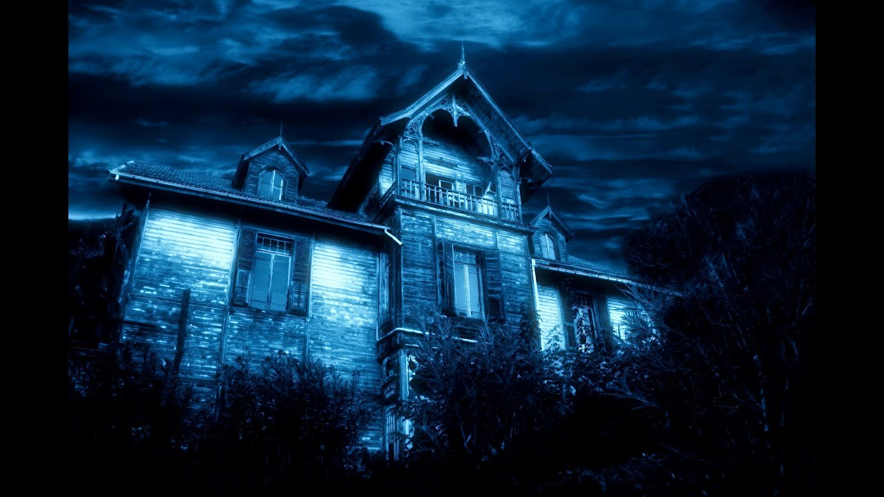 haunted blue house - real ghost stories - denisevlogs - youtube