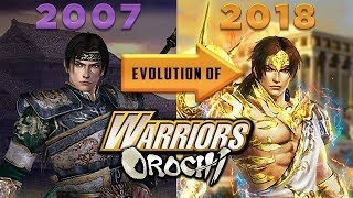 Evolution of WARRIORS OROCHI Videogames 2007-2018