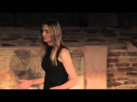 Just another fashion model talking about class, war and politics | Andreja Pejic | TEDxKalamata