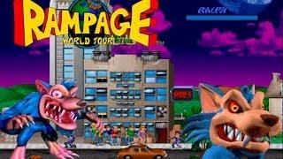 Rampage world tour ( Alberto Blaze ) Walkthrough Ralph The Blue Wolf