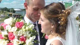 свадебный клип Александра и Анастасии 3 июня 2017г.