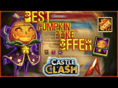 Castle Clash Best Pumpkin Duke Offer!