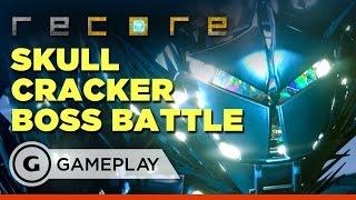 ReCore - Skull Cracker Boss Battle Gameplay