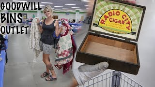 """We Thrifted the Goodwill """"Bins"""" Outlet   Thrift with Us   Reselling"""