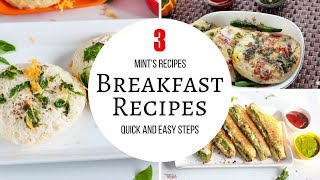 Quick & Easy Breakfast Recipes-Bread Recipes-Evening Snacks Recipes-Breakfast Recipes-#Compilation-5