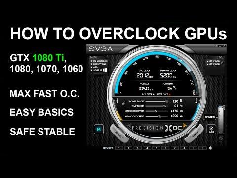 HOW TO OVERCLOCK A GPU -  GTX TITAN X, GTX 1080Ti, GTX 1080, GTX 1070, GTX 1060