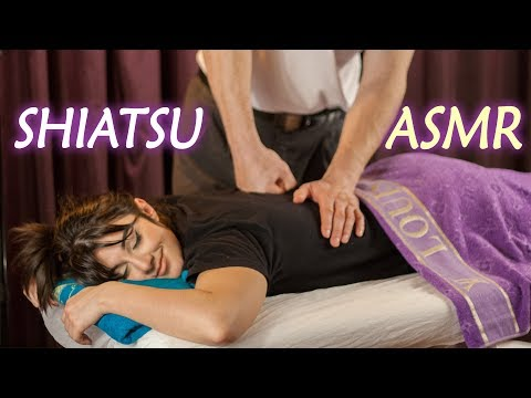 ASMR Shiatsu Massage, Relaxing and Tingly Massage